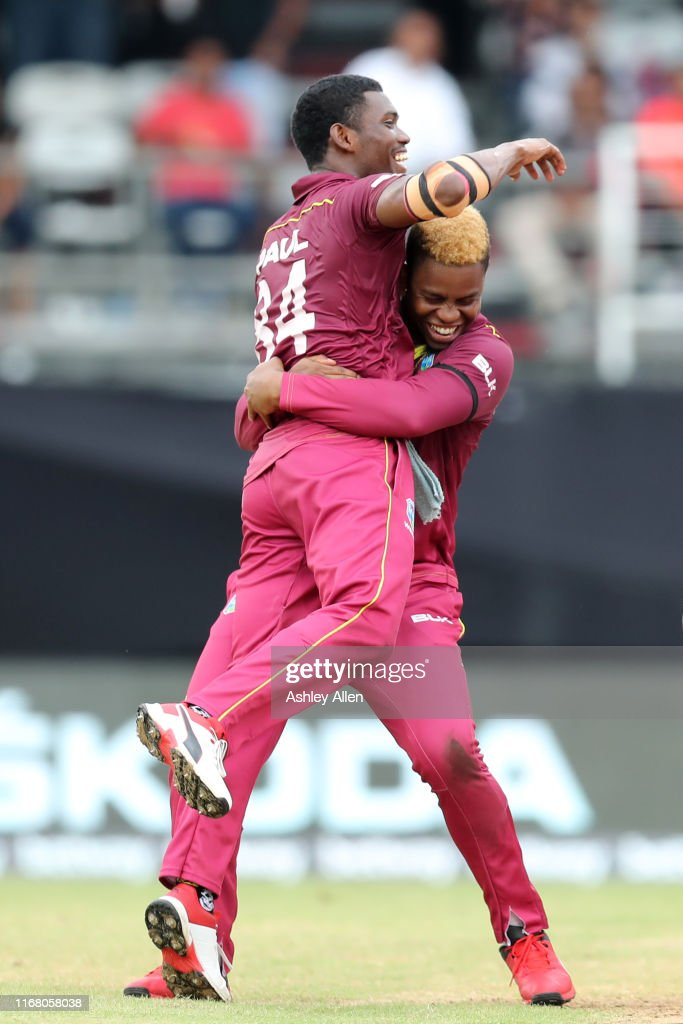 West Indies v India - One Day International Series : News Photo