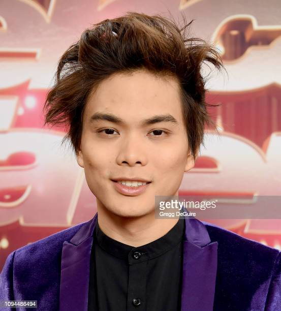 Shin Lim arrives at America's Got Talent The Champions Finale at Pasadena Civic Auditorium on October 17 2018 in Pasadena California