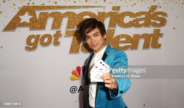 Shin Lim is the winner of 'America's Got Talent' Season 13 Finale Live Show Red Carpet at the Dolby Theatre on September 19 2018 in Hollywood...