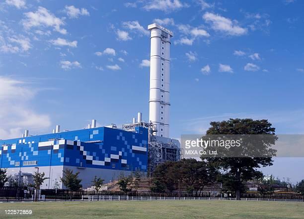 shin nagoya thermal power station, nagoya, aichi, japan - 火力発電所 ストックフォトと画像