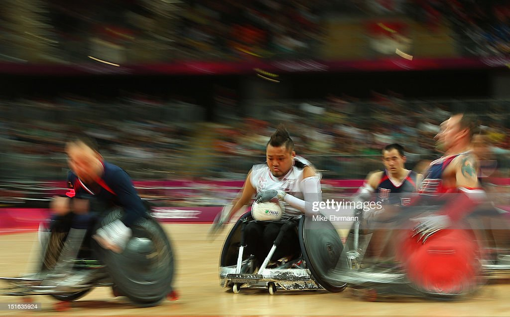 2012 London Paralympics - Day 11 - Wheelchair Rugby : News Photo