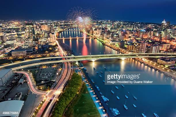 Shinano River, NIigata, Japan