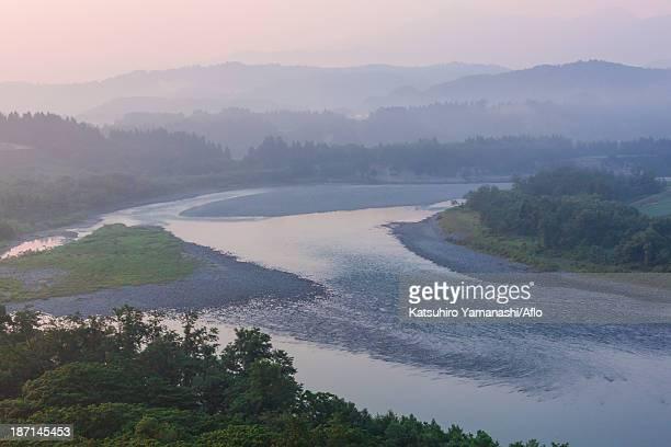 Shinano river, Niigata Prefecture