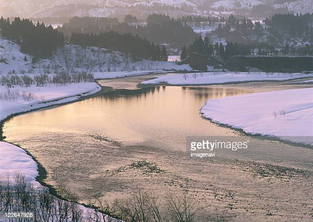 shinano river - 新潟県 ストックフォトと画像