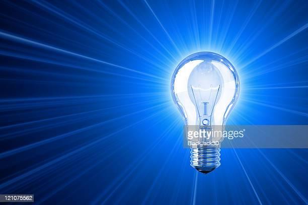 Shine leuchtende Idee
