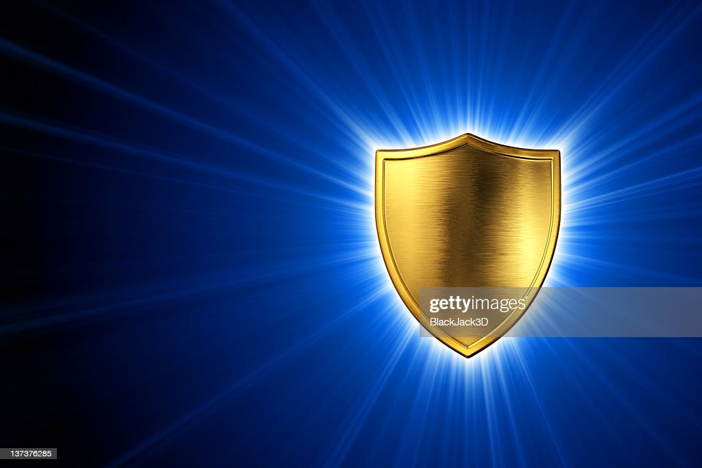 Shine of Shield : Stock Photo