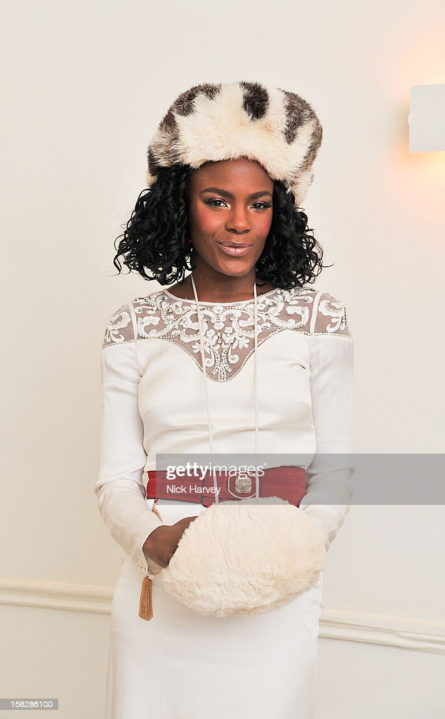 Shingai Shoniwa attends Jo Malone's Thoroughly Proper Party at Jo Malone London, Gloucester Place on December 12, 2012 in London, England.