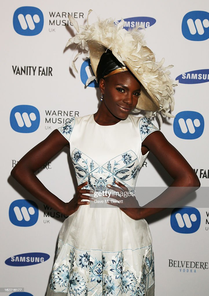 Shingai Shoniwa attends the Warner Music Group Post BRIT Party In Association With Samsung at The Savoy Hotel on February 20, 2013 in London, England.