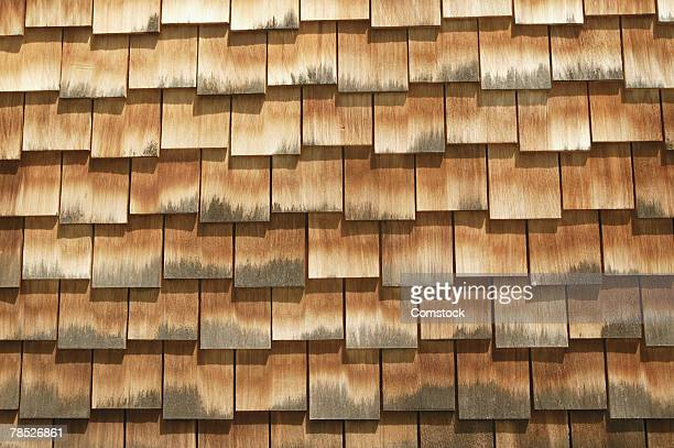 shingles on roof - mildew stock photos and pictures
