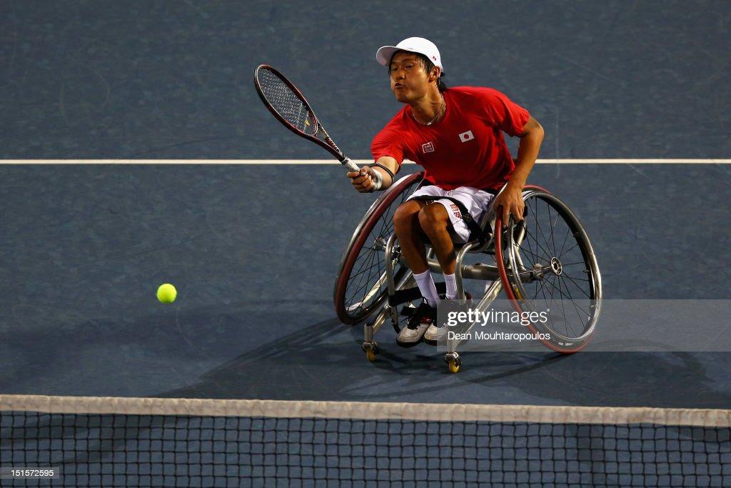 2012 London Paralympics - Day 10 - Wheelchair Tennis : News Photo