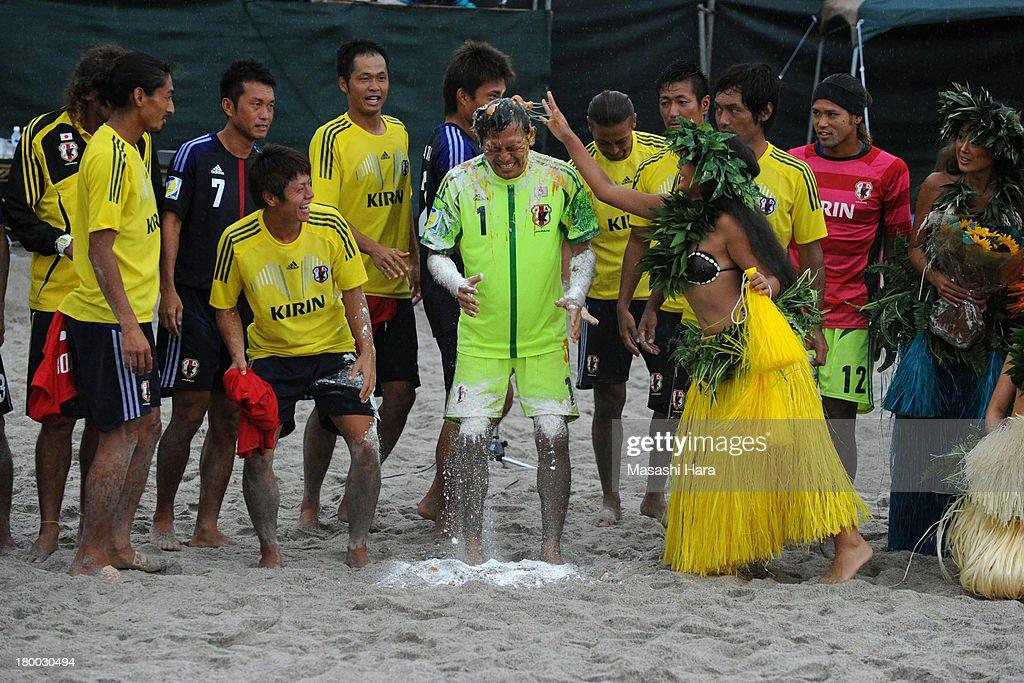 Japan v Switzerland - Beach Soccer International Friendly : News Photo
