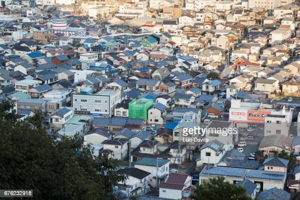 shingu city. japan - präfektur wakayama stock-fotos und bilder