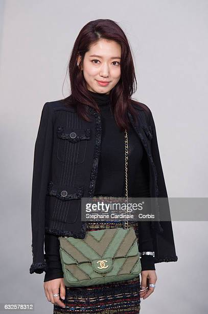 Shin-Hye Park attends the Chanel Haute Couture Spring Summer 2017 show as part of Paris Fashion Week on January 24, 2017 in Paris, France.