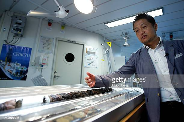 Shinichi Kuramoto deputy director of the planning and coordination department at the Japan Agency for MarineEarth Science and Technology's Center for...