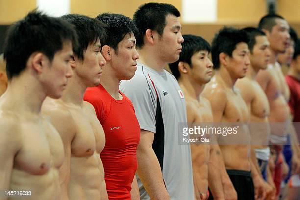 Shinichi Yumoto, Kenichi Yumoto, Tatsuhiro Yonemitsu, Takao Isokawa, Kohei Hasegawa, Ryutaro Matsumoto, Tsutomu Fujimura and Norikatsu Saikawa of...
