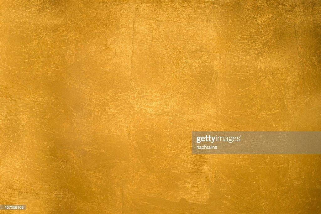 Shining gold texture : Stock Photo