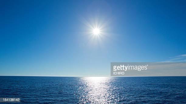 Shining sun and the Sea