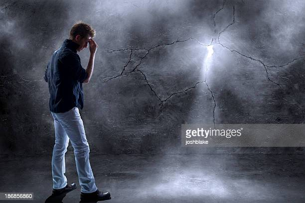 shining through - smoking crack stock photos and pictures