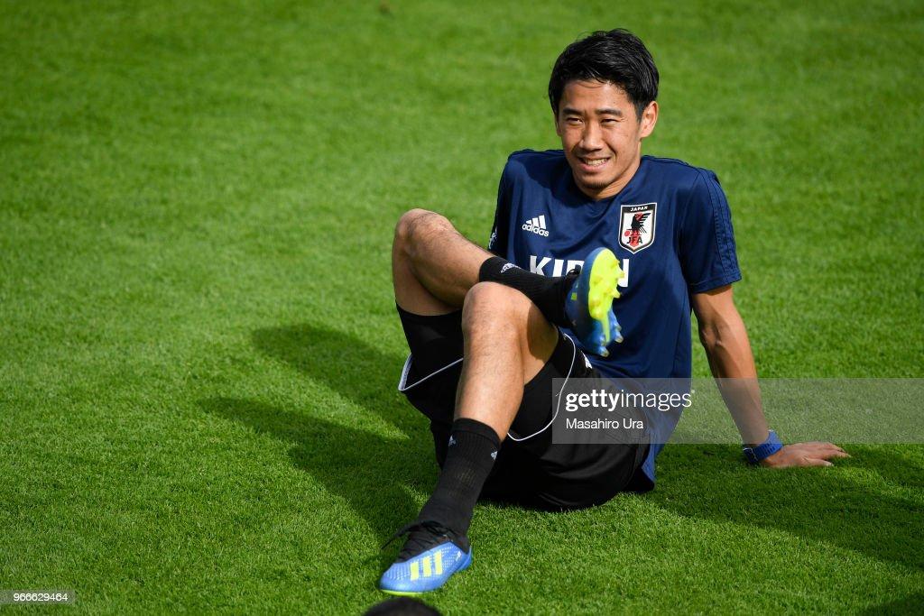 Japan Training Camp : News Photo