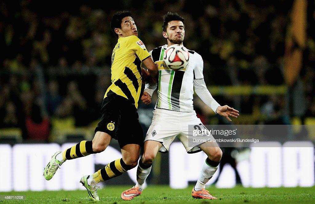Borussia Dortmund v Borussia Moenchengladbach - Bundesliga For DFL