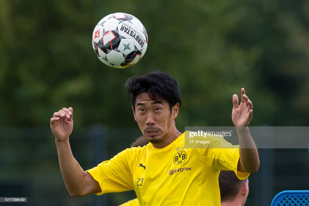 Borussia Dortmund Training Session