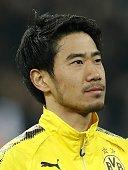 shinji kagawa borussia dortmund during uefa