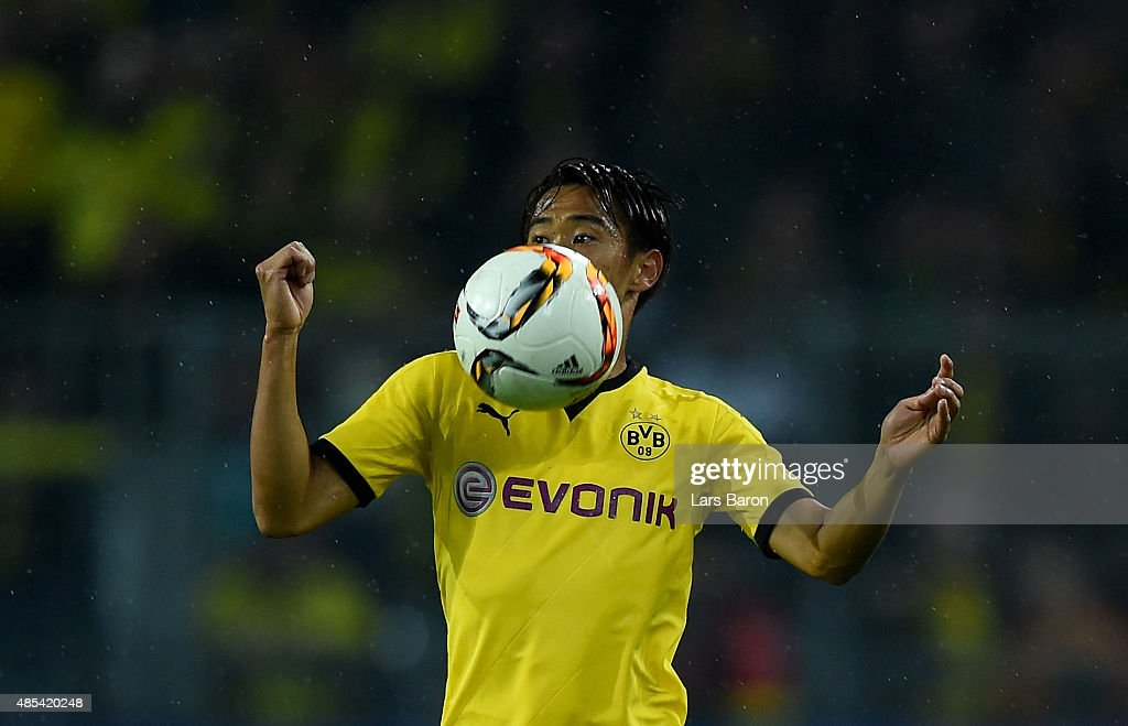 Borussia Dortmund  v Odds BK - UEFA Europa League: Play Off Round 1st Leg : News Photo