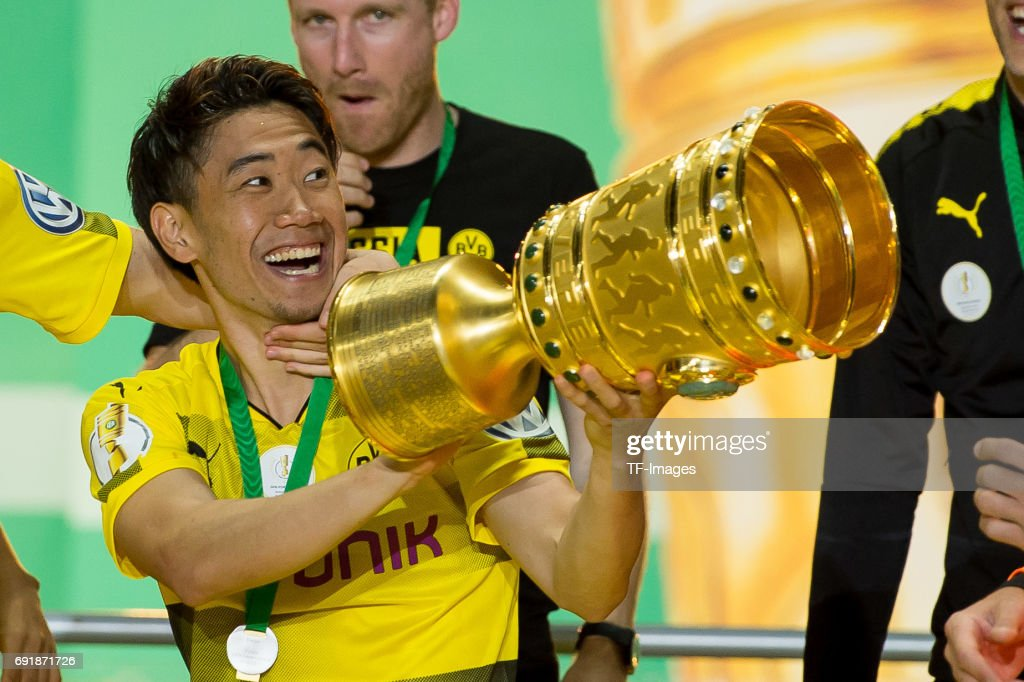 Eintracht Frankfurt v Borussia Dortmund - DFB Cup Final 2017 : News Photo