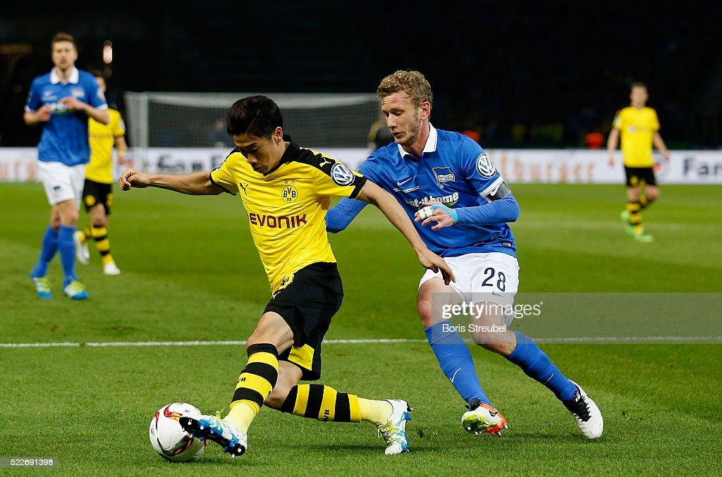 Hertha BSC Berlin v Borussia Dortmund - DFB Cup Semi Final : News Photo