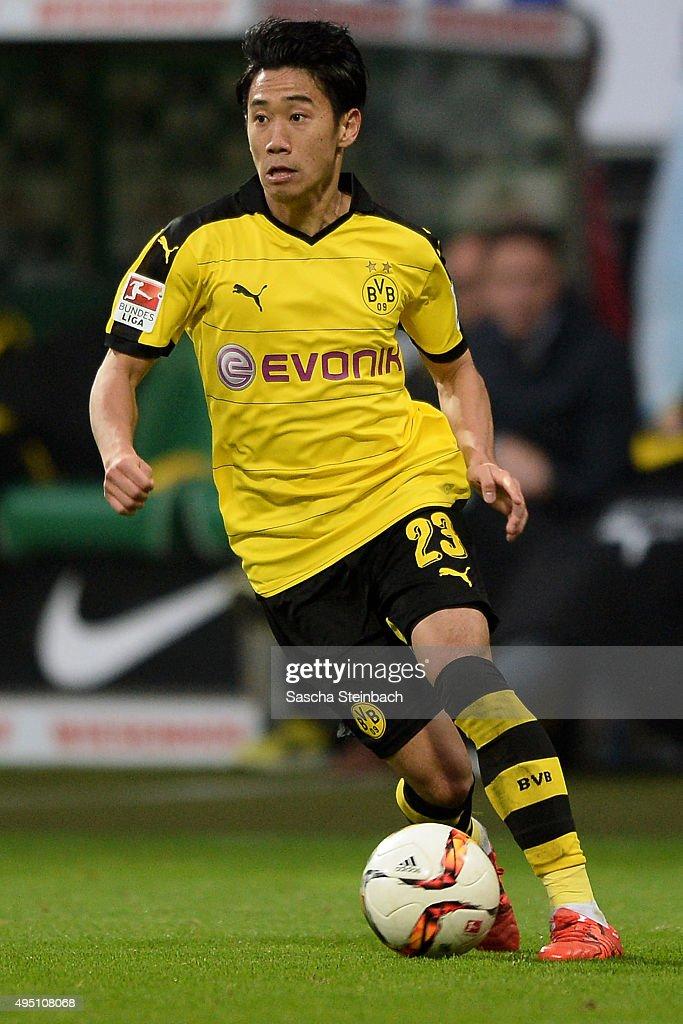 Werder Bremen v Borussia Dortmund - Bundesliga : News Photo