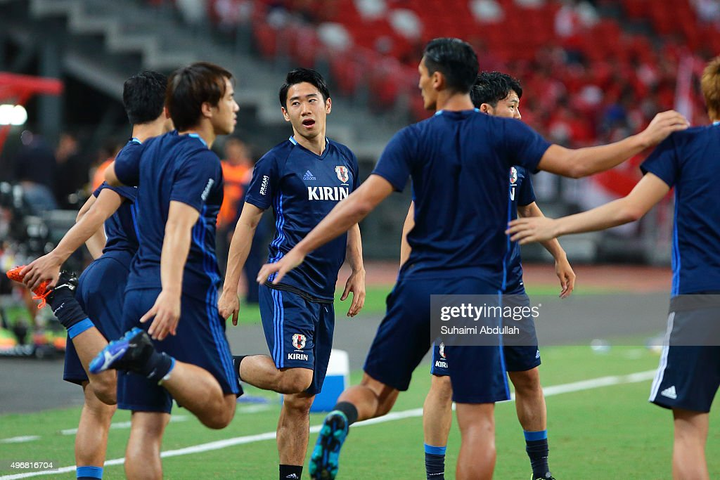 2018 FIFA World Cup Qualifier - Singapore v Japan : News Photo