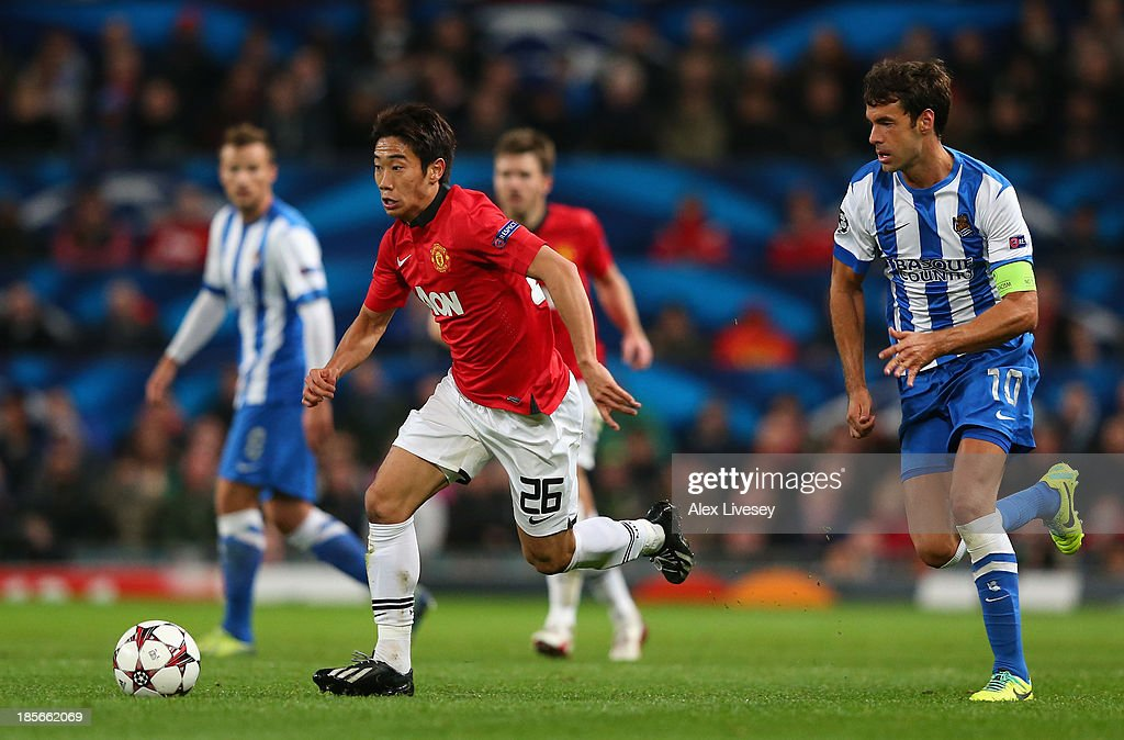 Manchester United v Real Sociedad de Futbol - UEFA Champions League : News Photo