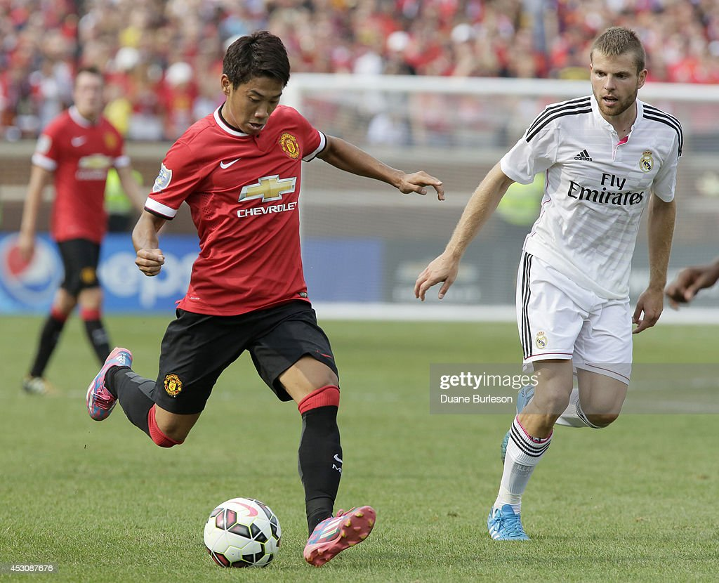 International Champions Cup 2014 - Real Madrid v Manchester United : News Photo
