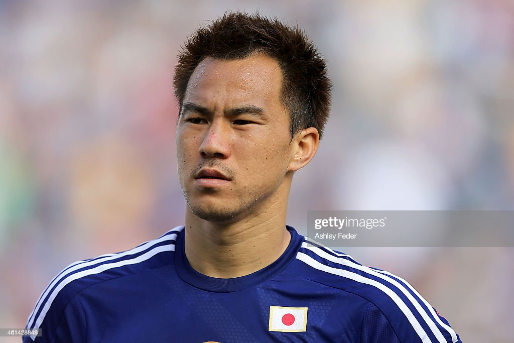 Japan v Palestine - 2015 Asian Cup : News Photo