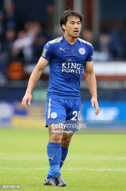 Shinji Okazaki of Leicester City during the pre season friendly between Luton Town and Leicester City on July 26th 2017 in Luton United Kingdom