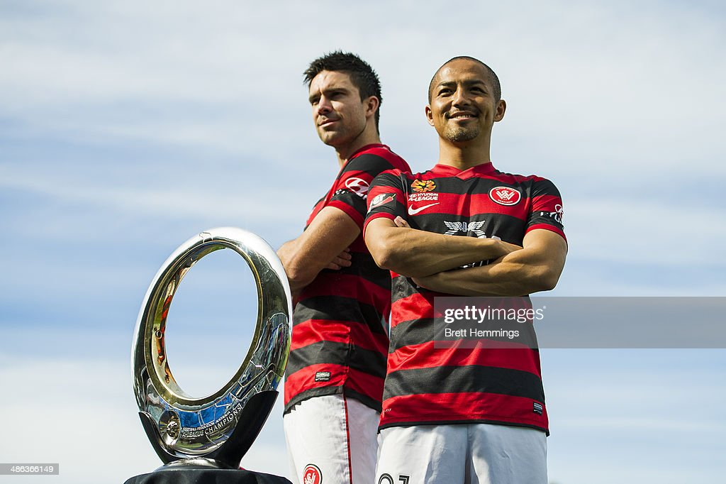 A-League Championship Trophy Photo Opportunity