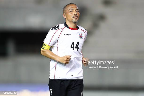 Shinji Ono of Consadole Sapporo in action during the preseason friendly match between Chiangmai FC and Hokkaido Consadole Sapporo at the 700th...