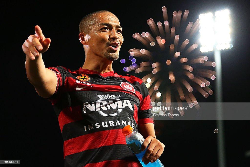 A-League Rd 16 - Western Sydney v Perth