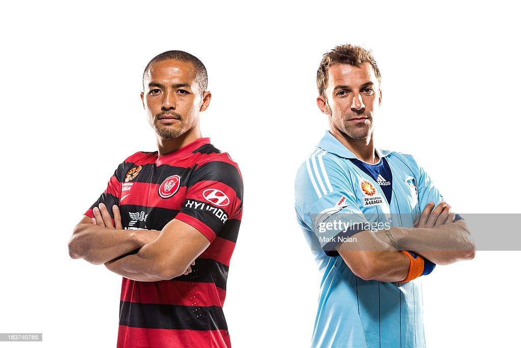 2013/14 A-League Players Portrait Session