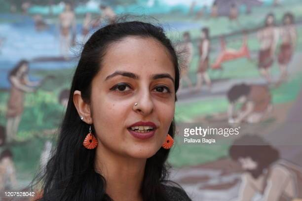 Shinjini Bhattacharya a conservation architect who researched the Indus Valley cuisine poses on February 20 2020 in New Delhi India What did humans...