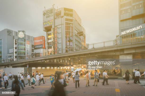 Shinjuku commercial street