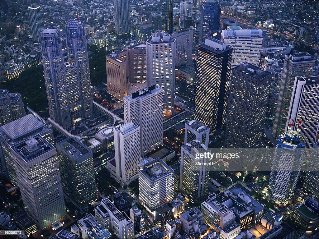 Shinjuku high-rise complex : ストックフォト