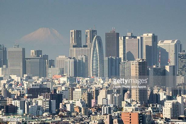 Shinjuku in the morning light