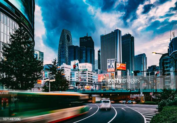 shinjuku japan - rich_legg stock pictures, royalty-free photos & images