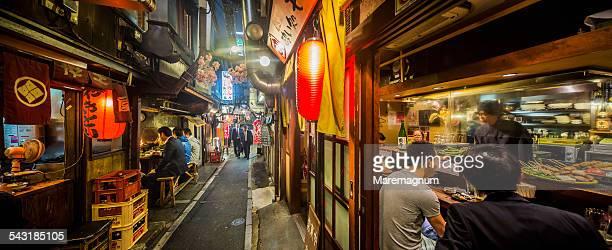 shinjuku, omoide yokocho - tokyo japan stock pictures, royalty-free photos & images