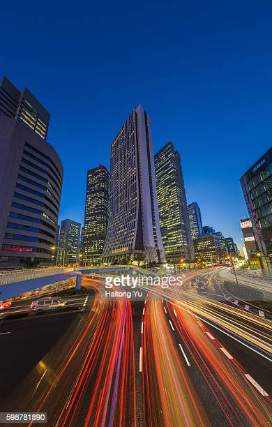 Shinjuku, one of the busiest areas of Tokyo, at evening rush hour