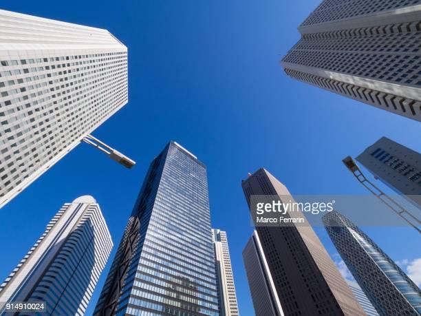 shinjuku skyscrapers, japan - 新宿区 ストックフォトと画像