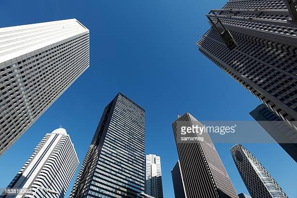 新宿の超高層ビル