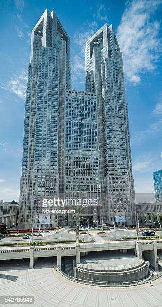 shinjuku, tokyo metropolitan government building - 東京都庁舎 ストックフォトと画像