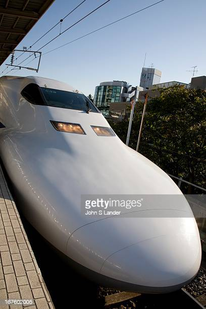 Shinkansen Nose Japan's main island of Honshu is covered by a network of high speed train lines that connect Tokyo with most of the island's major...
